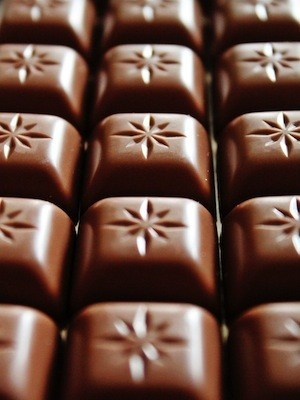 Chunk, drink and move for better memory - photo of chocolate bar