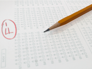 Biggest Mistakes when revising for ITIL exams - photo of failed exam paper