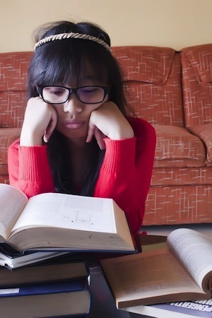 Biggest revision mistakes – Marathons Photo of tired student
