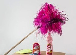 Biggest revision mistakes – Spotless house! Photo of cleaning materials