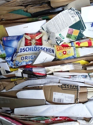 Biggest revision mistakes – Don't waste paper. Photo of stack of waste paper