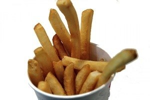 Biggest revision mistakes: Junk food, Junk mind - photo of French fires