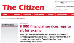When is an exam deadline, not a deadline? Photo of The Citizen publication
