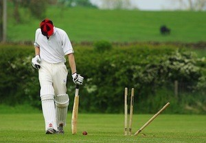 Exercise to boost brain power - photo of cricketer