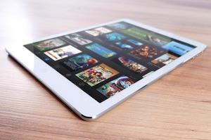 Using iPads in schools - photo of iPad