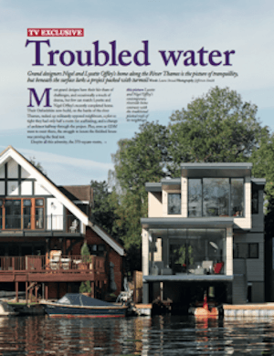 Our Grand Designs: The Trouble With Neighbours. Photo of Grand Designs magazine