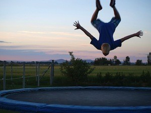 Rebounding - the Perfect Exercise - photo of trampolinist
