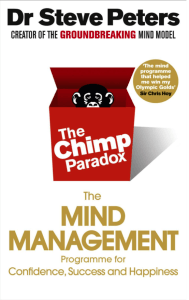 The Chimp Paradox - photo of book