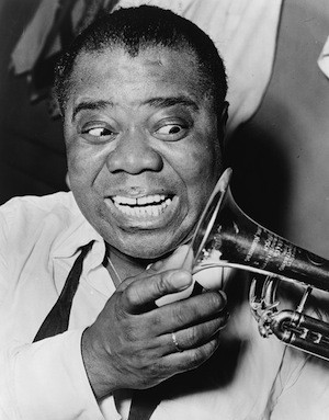 Creativity is a muscle. Photo of Louis Armstrong