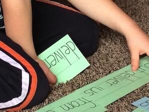 Character traits of good learners - child doing homework