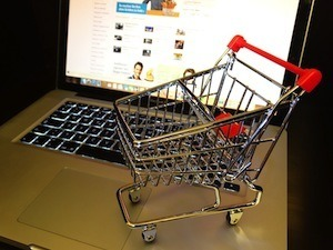 Are you sitting comfortably. Photo of internet shopping
