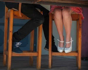 Are you sitting comfortably? - Photo of people sitting