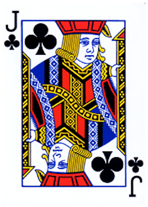 No such thing as a bad memory - photo of Jack of clubs