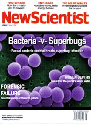 Fermented Food Headlines - photo of New Scientist mag