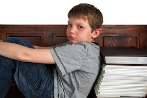 Is your child struggling at school? Photo of sad boy
