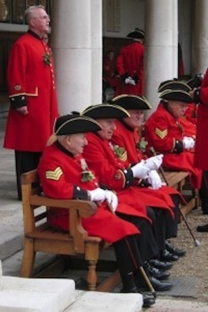 Forgot? No problem! Photo of Chelsea Pensioners