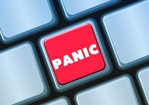 Relationship wrecker; photo of panic button
