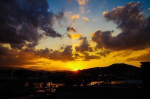 Relationship wrecker: Photo of sunset