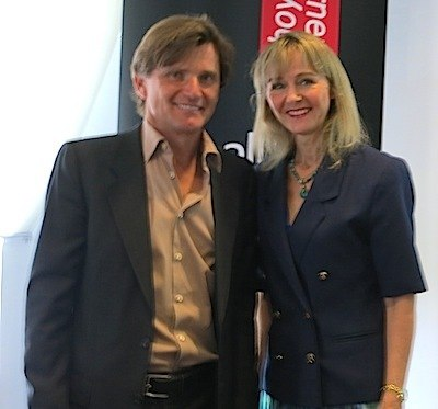 Emotional Intelligence - Photograph of Richard Farleigh and Lysette Offley