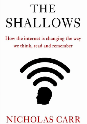 How the internet is changing how we learn. Photo of book cover