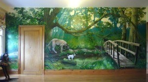 improve your working memory - photo of nature mural
