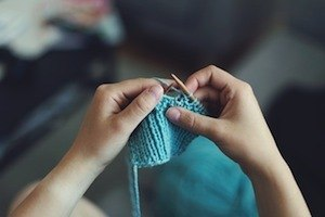 Music to your ears? - photo of knitting