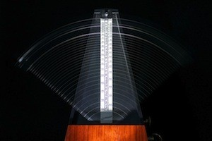 Music, your brain and exercise - photo of metronome