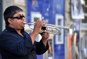 Music to my ears! - Photo of trumpeter