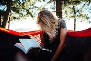 Two easy things to improve your revision - photo of woman reading