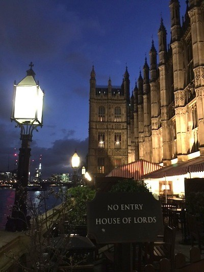 The wise man built his house upon the rock - photo of Parliament