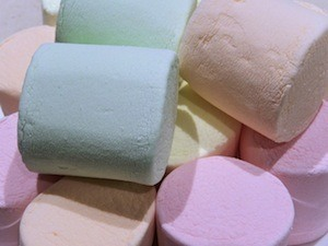 Stanford marshmallow experiments - photo of marshmallows