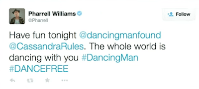 photo of Pharrell Williams Tweet