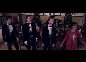 video of Shirley Bassey Xmas song