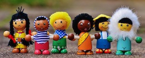 Who are you this week? - photo of dolls from different nationalities