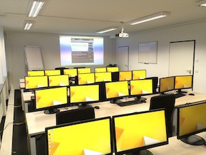 What cost, improving self-esteem - photo of computers in classroom
