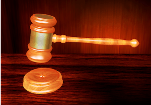 We all stand together - photo of judge's gavel