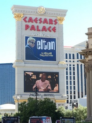 Ideacide -v- courage: Photo of billboard at Caesar's Palace