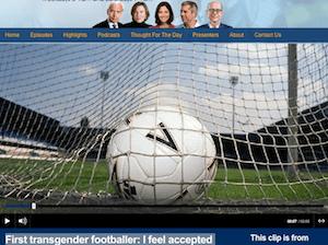 ideacide - courage John Humphreys talks to the first transgender footballer