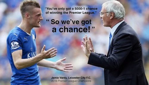 Ideacide -v- courage: Roger Hamilton's article about Jamie Vardy