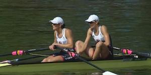 Olympic athletes and Maybelline - photo of sculling