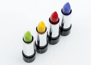 Olympic athletes and Maybelline - photo of lipstick