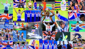 Celebrating Olympic and GCSE results? Photo compilation of Olympic Rio