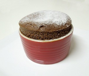 Don't bugger up your souffle - photo of souffle