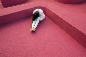 Are you doing anxiety & depression? Photo of depressed girl