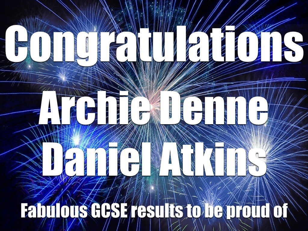 GCSE results to be proud of