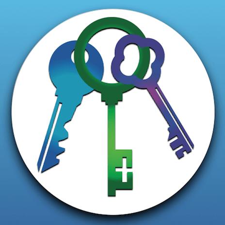 3 keys logo GM