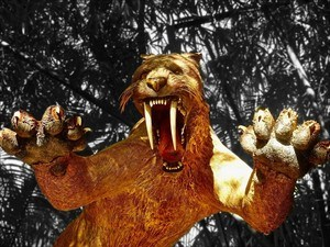 How to use your nose to eliminate stress! Sabre tooth tiger