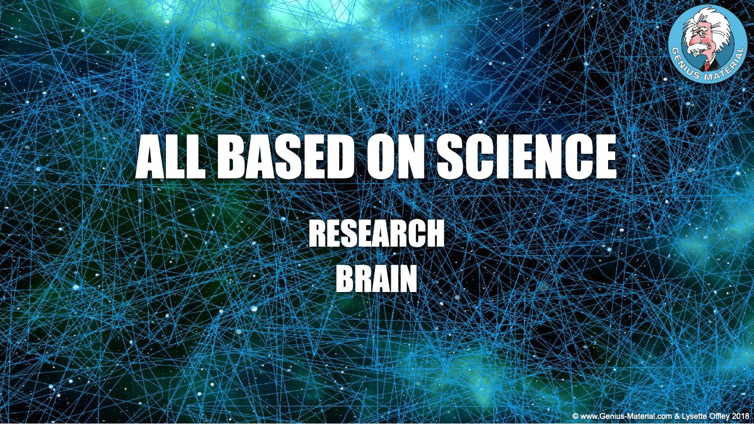 Slogan: All based on science