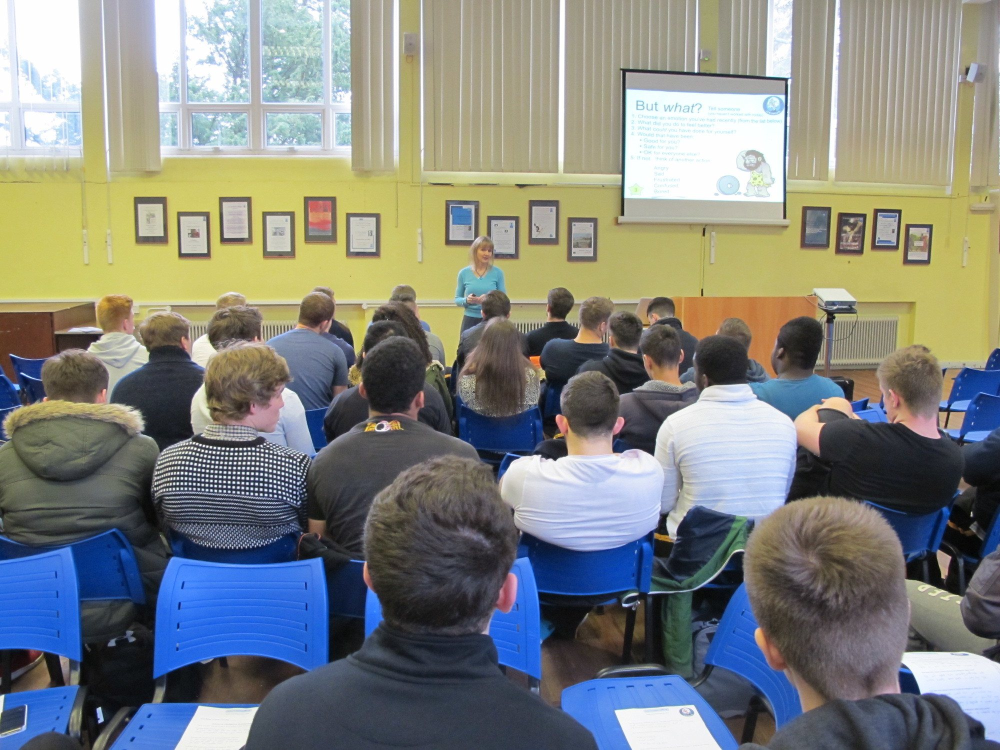 Lysette Offley Understanding Ourselves and Other People Henley College Rugby Academy 15.01.14
