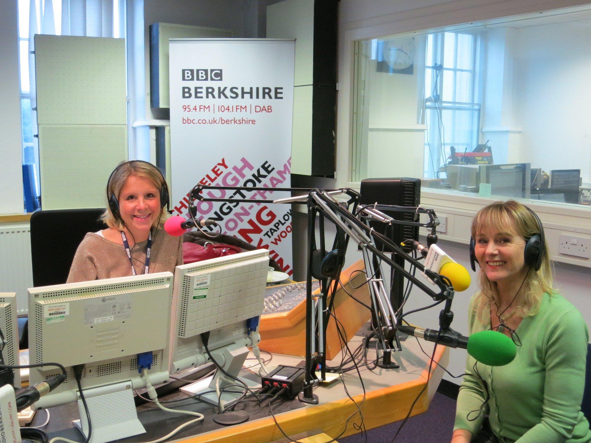 Lysette Offley Radio Berkshire 25.08.12